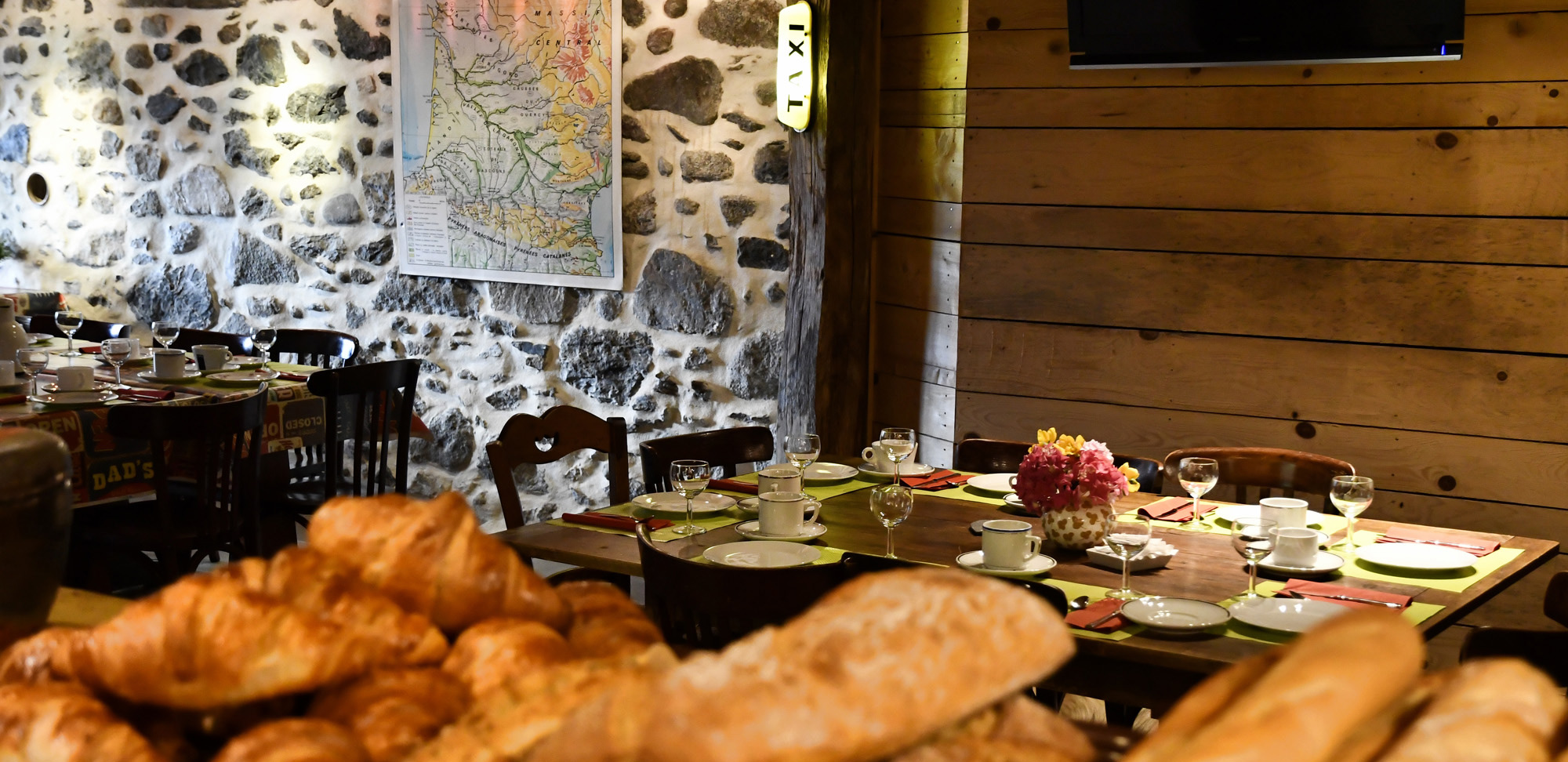 Restaurante La Bergerie en Camping la Forêt