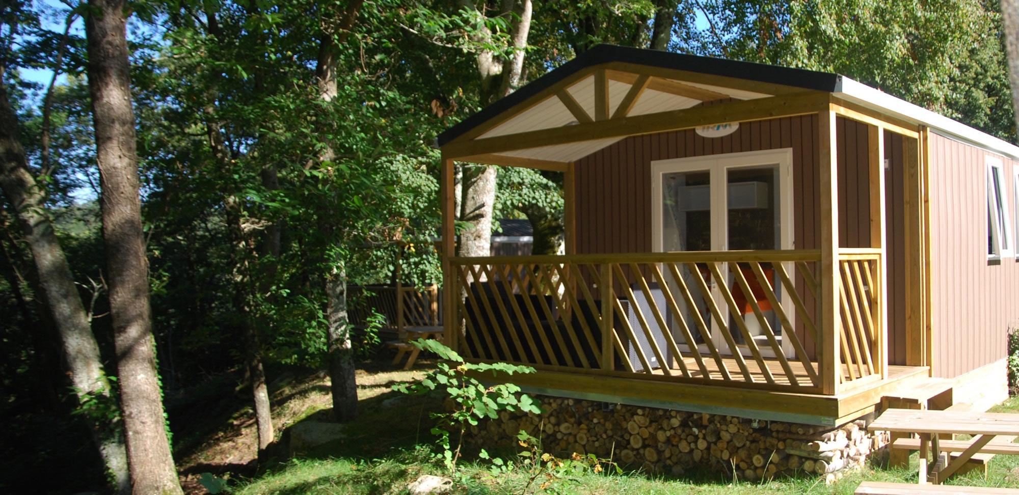 Bio cabaña camping la Forêt Lourdes