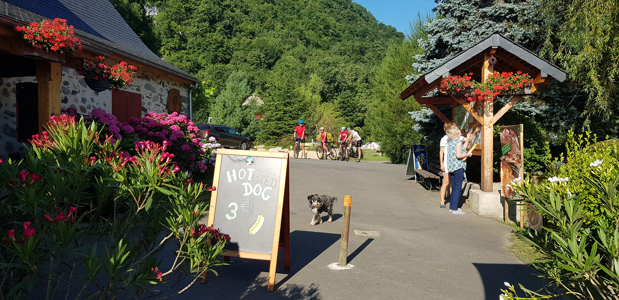 Cheap campsite in Lourdes