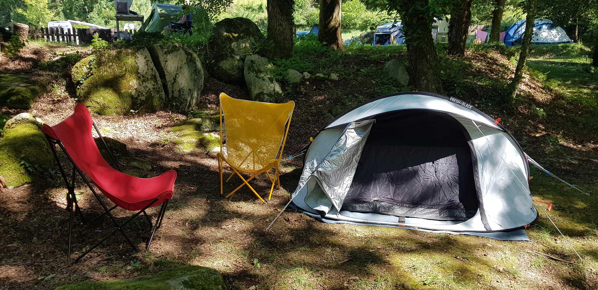 tiendas de campaña y campamentos en Lourdes