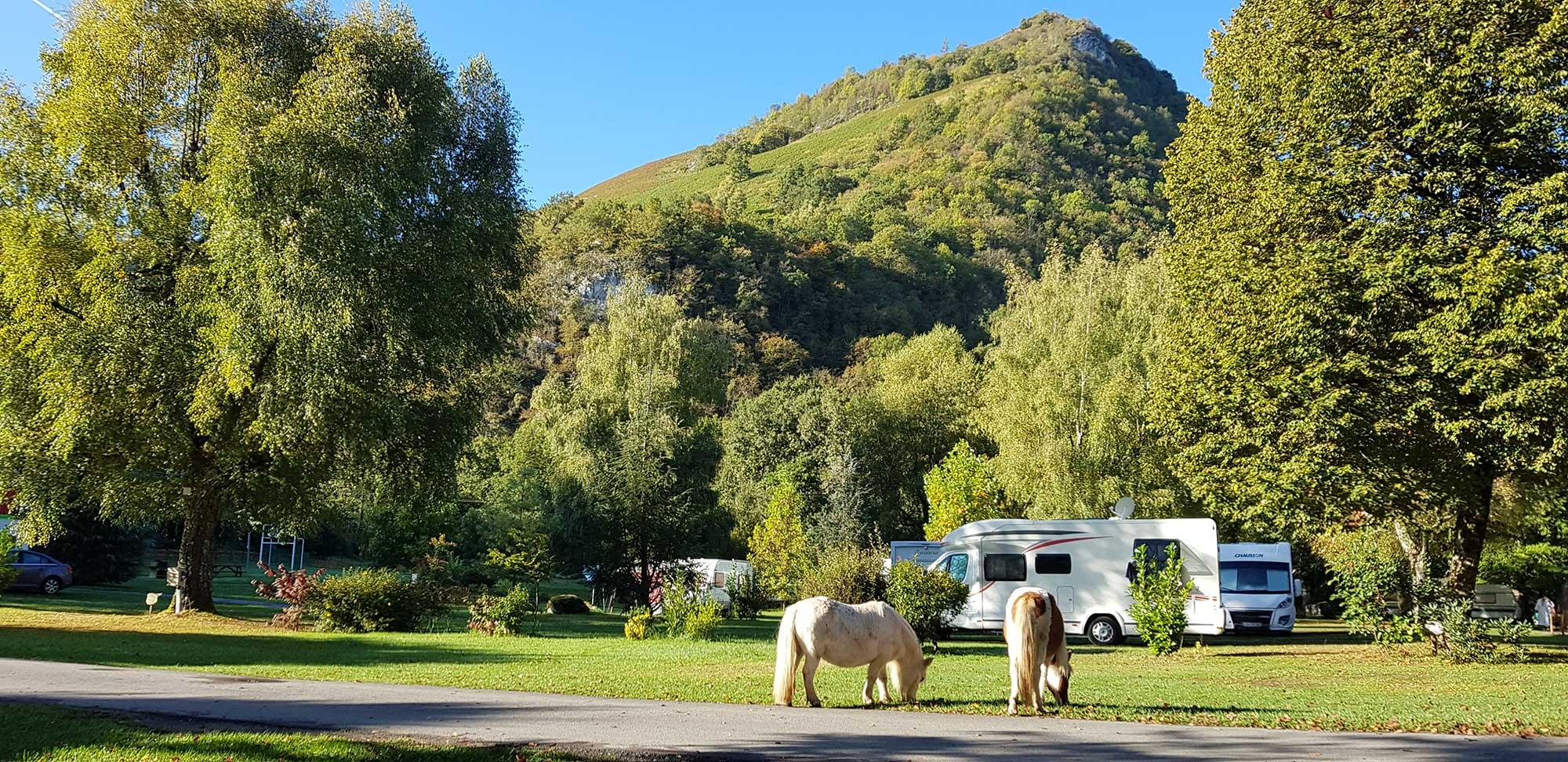 Camping de montaña Altos Pirineos