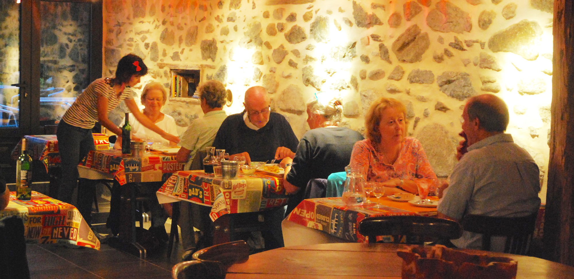 Restaurante la Bergerie, camping la Forêt Lourdes