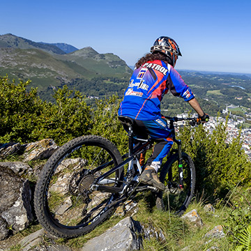mountain bike Pic du Jer