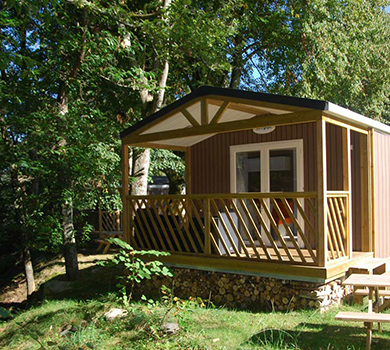 alojamientos camping, bio-cottage, chalet, lodge, mobil-home